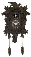 Acctim Hamburg Cuckoo Clock - Antique Bronze